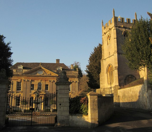 Widcombe Manor House and church