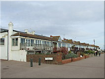 TQ7407 : Cottages on the sea front, Bexhill by Malc McDonald