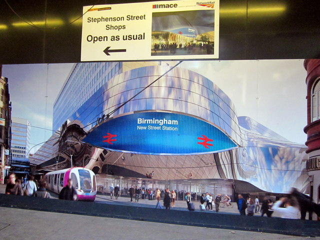 Poster For The New, New Street Station