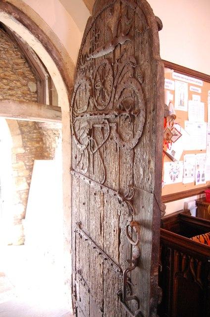 11th Century door, All saints' church, Staplehurst