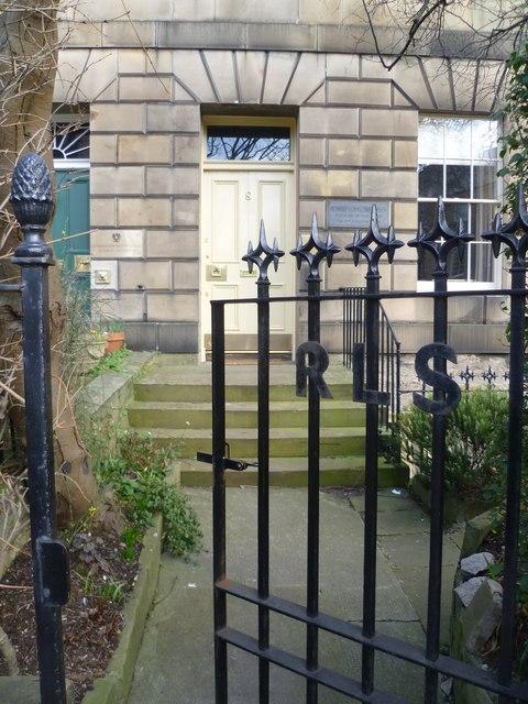 Robert Louis Stevenson's birthplace, Howard Place