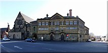 NZ2564 : 'One of the oldest Swimming Baths in Britain', New Bridge Street by Andrew Curtis
