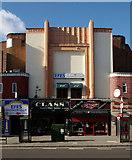 TQ3385 : Former ABC cinema, Stoke Newington Road by Julian Osley