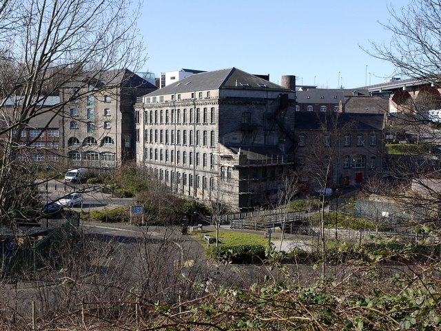 Ouseburn from the east