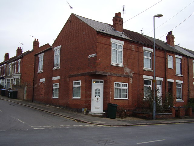 Welland Road junction with Terry Road
