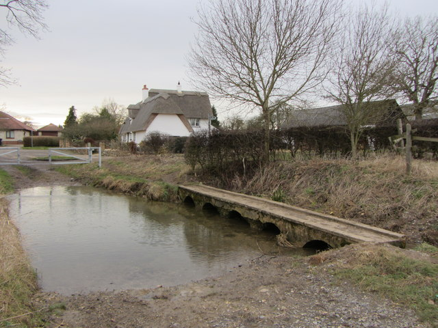 Thatched cottage, Horseshoes Lane, Weston Green