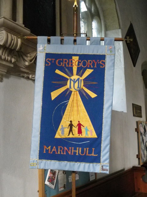 Banner, St Gregory's Church