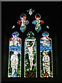 ST7818 : Stained glass window, St Gregory's Church by Maigheach-gheal