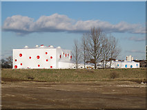 TQ4277 : Olympic shooting venue, Woolwich Common by Stephen Craven