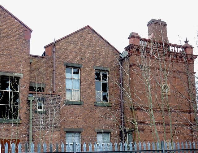 Bilston Technical School (detail), Wolverhampton