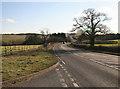 SK4270 : The B6425 nr Duckmanton Moor by roger geach