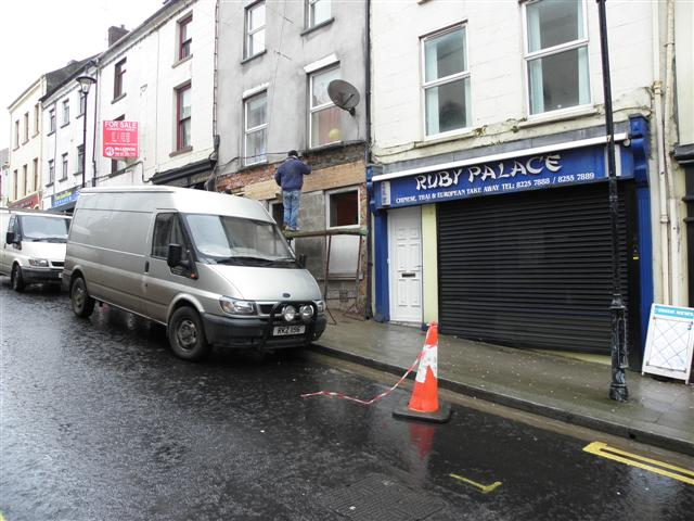 Renovations in Georges Street, Omagh
