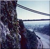 ST5673 : Clifton Suspension Bridge from St Vincents Cave by Elliott Simpson