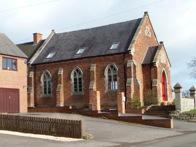 Converted chapel, Derby Lane, Great Cubley