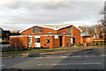 SJ8683 : St Benedict's Catholic Church, Handforth by David Dixon
