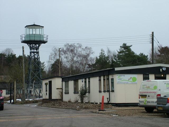 Watchtower at former RAF Barnham