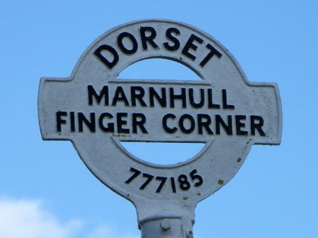Sign, Finger Corner
