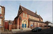 TQ2382 : St Martin, Mortimer Road, Kensal Rise by John Salmon