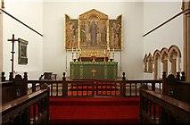 TQ2382 : St Martin, Mortimer Road, Kensal Rise - Sanctuary by John Salmon