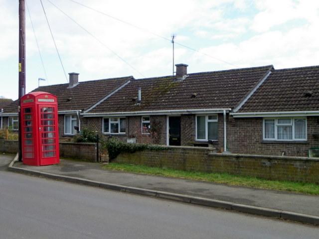Telephone box, Marnhull