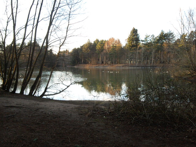 Lake at Centerparcs, Elveden Forest