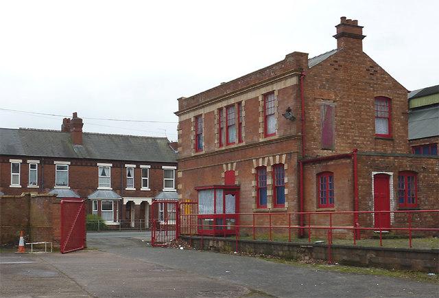 Prospect House (rear view) in Bilston, Wolverhampton