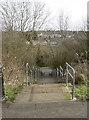 ST6168 : Steps to Sturminster Road by Neil Owen