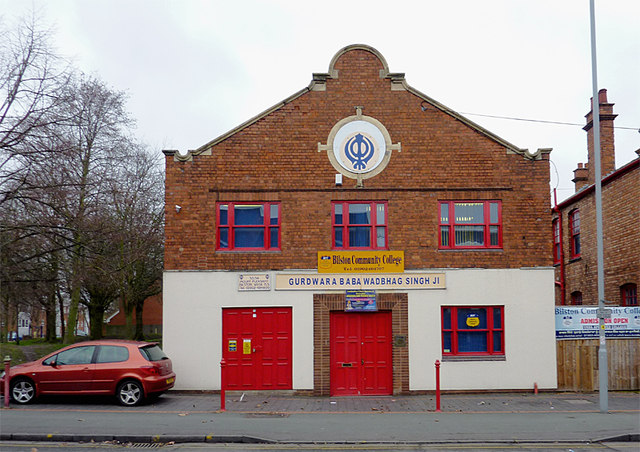 Sikh temple and college in Bilston, Wolverhampton