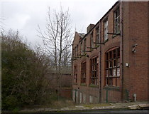 SO9596 : Bilston Technical School, rear view by Alan Murray-Rust