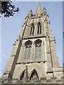 TF3287 : Steeple of St James Louth by Richard Hoare