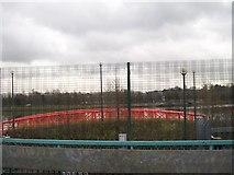 J3473 : Foot bridge on Lagan Walkway by Eric Jones