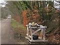 ST1305 : Wayside stall, Long Lane by Derek Harper