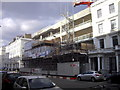 TQ2978 : Flats under construction in St George's Drive Pimlico by PAUL FARMER