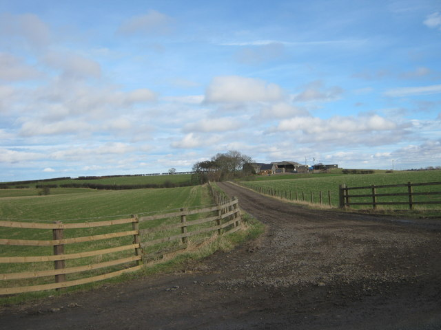 Drive to Broad Lea Farm