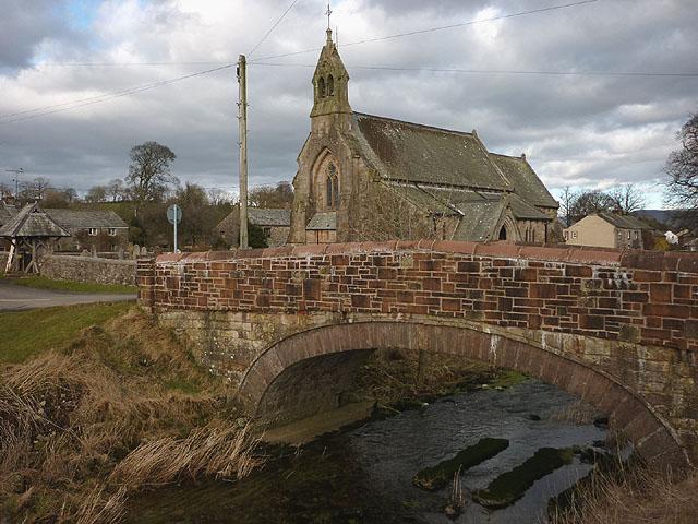 Millennium bridge, Great Asby