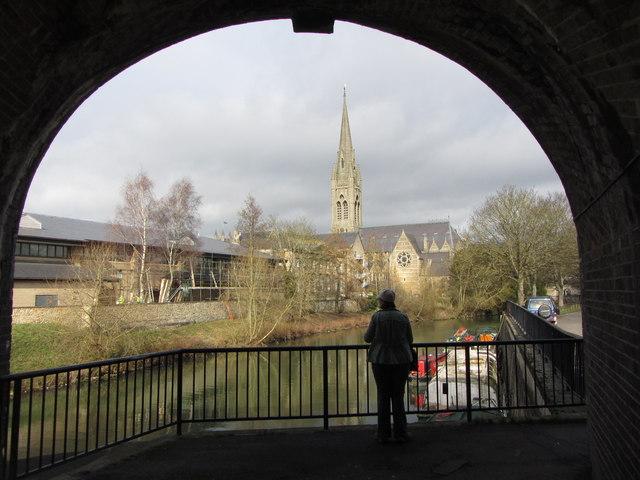 Bath - looking towards St John's church