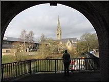 ST7564 : Bath - looking towards St John's church by Gareth James