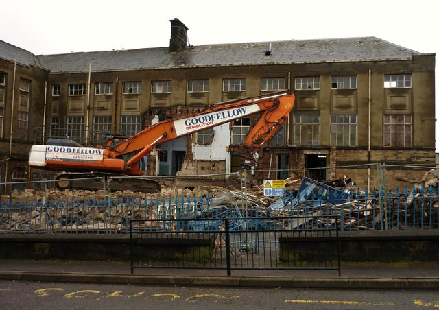 Albert Primary School (demolition site)