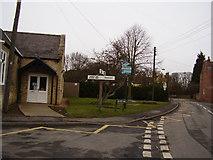 SK8836 : Barrowby village sign,Rectory Lane by Anthony Vosper