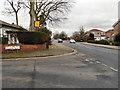 SJ5994 : A49 Towards Winwick by David Dixon