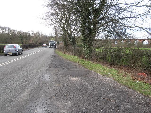 A535 road