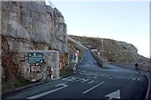 SH7783 : Junction of St Tudno's Road and the Marine Drive by Jeff Buck