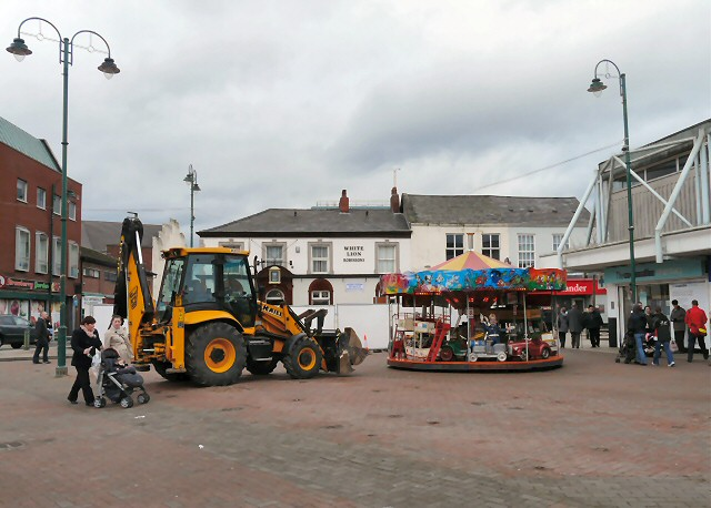 Carousel and JCB
