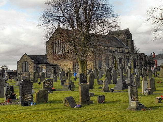 Abram Parish Church, St John the Evangelist