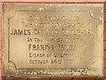 SD6003 : Foundation Stone, St Nathaniel's Church by David Dixon