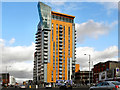 SJ8498 : Skyline Central by David Dixon
