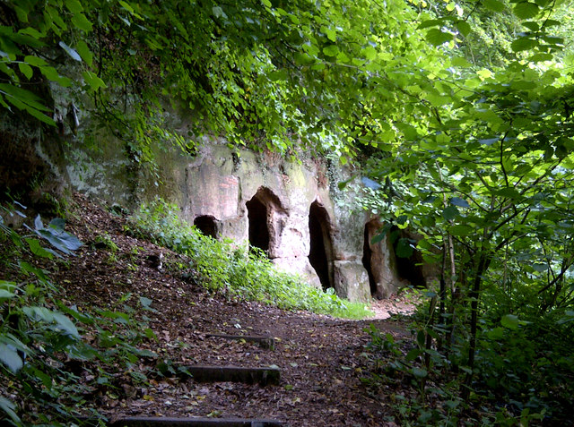 The Hermits Cave of Dale Abbey