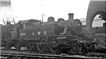 TQ2182 : New LMS Ivatt 3MT 2-6-2T at Willesden Locomotive Depot by Ben Brooksbank