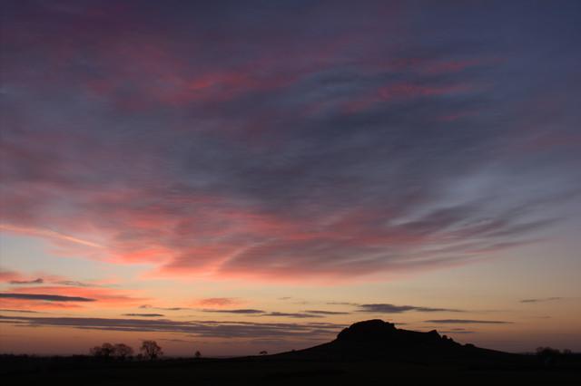 Clouds Before Dawn, Almscliff Crag