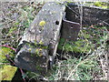 SU1187 : Detail of discarded lock gates, Mouldon Lock, Wilts & Berks Canal (North Wilts Branch) by Vieve Forward